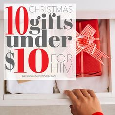 10 Christmas Gifts Under $10 For Him