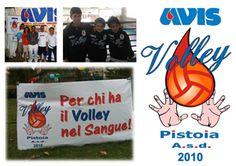 Logo per squadra di volley Avis Pistoia.  #logo & #payoff #Avis #Pistoia