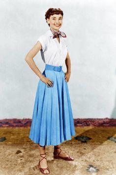 "Audrey Hepburn for ""Roman Holiday"" (1953)"
