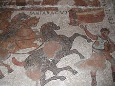 Mosaic de Can Pau Birol (Bell-lloc del Pla. Girona) S. III dC by l_inclan, via Flickr