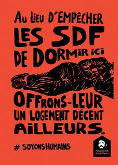 Abbé Pierre Foundation on Inspirationde Creative Posters, Cool Posters, Type Design, Graphic Design, Foundation, Abstract Styles, Illustration, Typography, Design Inspiration