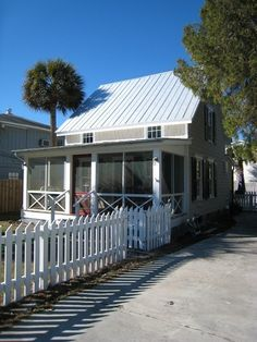 Tybee Island cottage rental - Front of the cottage