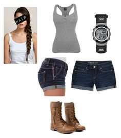 """""""Evelyn"""" by mckenzie-blossom ❤ liked on Polyvore featuring Aéropostale, Daytrip and Hershesons"""