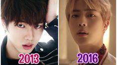 BTS Jin 진 Evolution 2013-2016