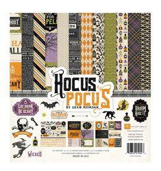 Echo Park - Hocus Pocus Collection - Halloween - 12 x 12 Collection Kit at Scrapbook.com
