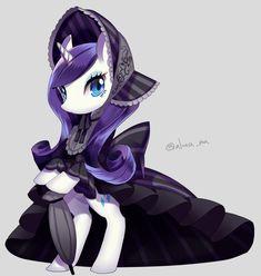 Rarity by Akuama <--- Gothic Lolita inspired Rarity