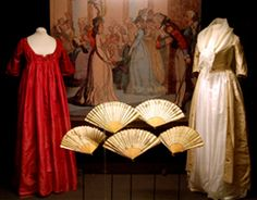 Display at the Fashion Museum, Bath