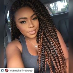 24 Inch Ombre Brown Havana Mambo Twist Braid Hair Crochet Braids Hair Extension for sale online Crochet Twist Styles, Havana Mambo Twist Crochet, Crochet Hair Styles, Crochet Hair Extensions, Synthetic Hair Extensions, Braid In Hair Extensions, Crochet Twist Hairstyles, Braided Hairstyles, Hairstyles 2018