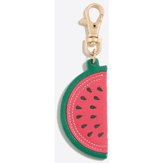 Fruit keychain ($13) ❤ liked on Polyvore featuring accessories and fob key chain