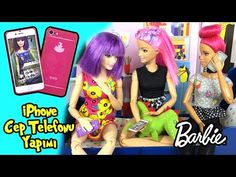 Barbie Dikişsiz Çanta Yapımı - Kendin Yap Kolay Barbie Bebek Eşyaları - Oyuncak Yap - YouTube