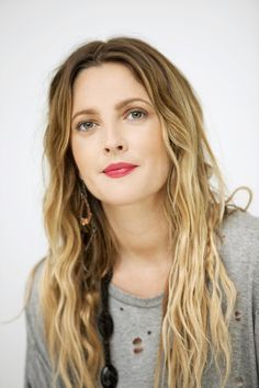 Drew Barrymore has the best hair!