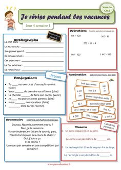 Learning Activities, Activities For Kids, School Organisation, French Expressions, Kids Pages, Cycle 3, Teacher, Journal, New York
