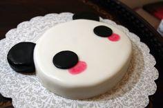 Cute Panda Birthday Cake Cake Birthday Cute Panda