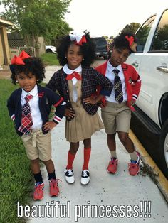 school uniform outfits for kids Toddler School Uniforms, School Uniform Outfits, Kids Uniforms, Uniform Ideas, Police Uniforms, Little Girl Outfits, Little Girl Fashion, Kids Outfits, Family Outfits