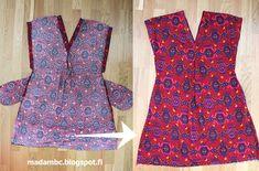 Madam B.C.: Tee-se-itse: Ompele mekko osa 3. Lily Pulitzer, Summer Dresses, Sewing, Tees, Pattern, Fashion, Moda, Dressmaking, Chemises