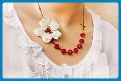 Garnet Necklace - Wedding nacklaces (*Amazon Partner-Link)