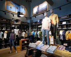The original jean company, Levi's is already present in eight Chic Outlet Shopping Villages in Europe.