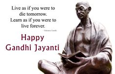 Top 20 Gandhi Jayanti Images Quotes And Messages For 2nd October Happy Gandhi Jayanti Images, Gandhi Jayanti Wishes, Gandhi Jayanti Quotes, Gandhi Quotes, Hindi Quotes On Life, Life Quotes, Qoutes, 2 October Gandhi Jayanti, Mahatma Gandhi Photos