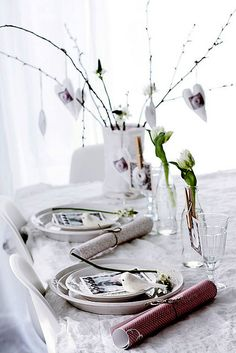 DIY Lovely Table Setting | decor8