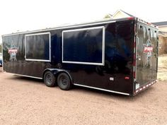 26 Ft. Vending Trailer With AC, Shower, Toilet, More: 8/25/2016 Pueblo, Colorado - Haulmark enclosed vending trailer with living quarters.  26 ft. Haulmark enclosed vending/merchandise trailer Living quarters