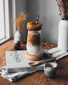 Cold brew? Donut? Yes please!   | @bybernardus  tags | #coffee #coffeetime #latte #coffeelover #instacoffee #espresso #coffeelove #coffeecup #coffeebreak #cappuccino #lattegram #coffeeaddict #coffeelife #coffeeoftheday #coffeeholic #coffeegram #machiato #latteart #coffeeart