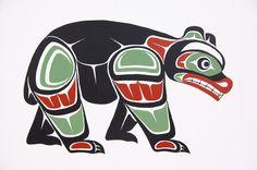 Fabulous Native American Bear Artwork on Uncategorized Ideas