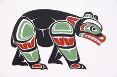 native american bear art - Google Search
