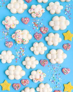 Sweet Dreams Sprinkle Mix with cloud cookies I Shop Sweets & Treats