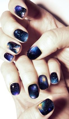 galaxy nail art collection!