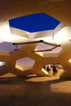 Roskilde Dome 2011 by Kristoffer Tejlgaard, via Behance