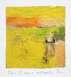 dec082011   oil on canvas 9 cm x 9 cm hiroshi matsumoto www.…   Flickr