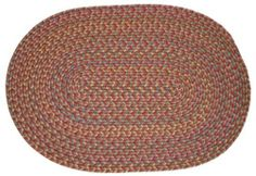 Blossom Braided Rugs - Terra Cotta 5x8 Oval Braided Rug by Rhody Rugs. $164.99. Available in matching Chair Pads and Stair Treads!. Quality Crafted in New England. 100% Nylon Synthetic Blend. Guaranteed to lie flat!. 5x8 Oval Braided Rug. Blossom Braided Rug Collection Braided Rugs will make any room in your home more inviting the moment they touch the floor - Blossom braided rugs are crafted from a durable nylon fiber so they will last, and will maintain their beau...