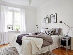 scandinavian bedroom - Google Search