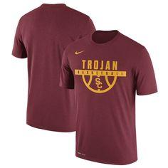Camisa Usc Logotipo Trojans Legend Masculina T College Nike