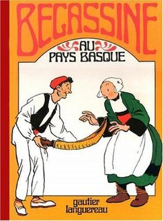 Becassine au Pays Basque written by Jacqueline Rivière and drawn by Joseph Pinchon