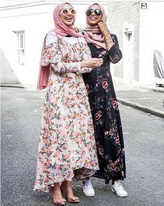 Hijab spring street fashion – Just Trendy Girls Muslim Women Fashion, Islamic Fashion, Modest Fashion, Maxi Outfits, Fashion Outfits, Street Hijab Fashion, Hijab Style, Fashion Cover, Hijab Dress