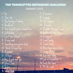 Travelettes Instagram Challenge