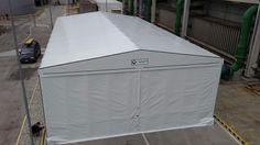 capannoni mobili con cordoli prefabbricati per noleggio #coperture #mobili #capannoni #tunnel #pvc #industriali #cordoli #prefabbricati #noleggio