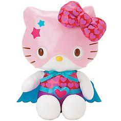 Hello Kitty DARKGRAPEMAN Plush Doll Mascot Chain Key Ring