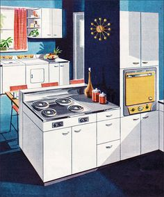 1953 Thor Electric Kitchen