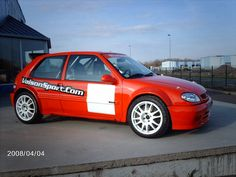 Citroen Saxo Rally Kit Car fast