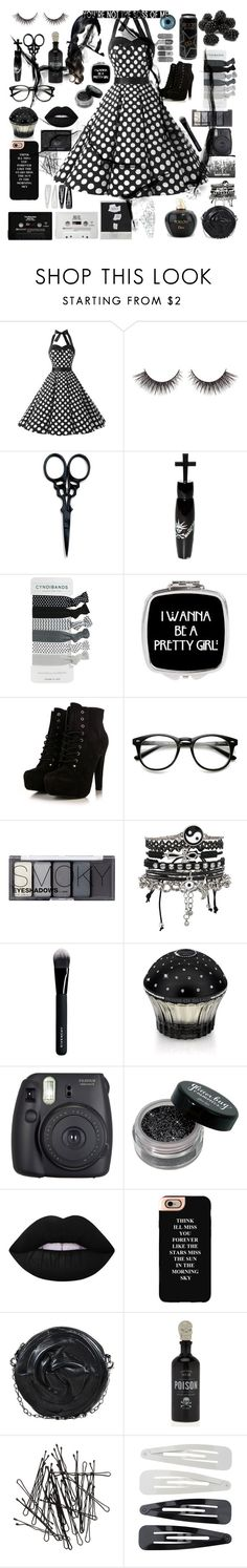 """""""You're Not The Boss Of Me XxX"""" by cory-price ❤ liked on Polyvore featuring The BrowGal By Tonya Crooks, Manic Panic NYC, H&M, ASOS, Givenchy, House of Sillage, Fuji, Lime Crime, Casetify and Valentino"""