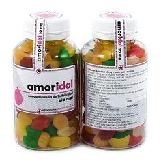 Amoridol - Un medicamento diferente. Dosis de amor a raudales. http://sorpresasparatupareja.com/2015/02/20/amoridol-un-medicamento-diferente/