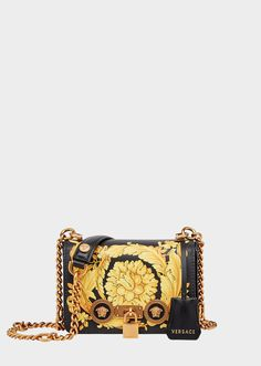 14db86341e85 Small Barocco Icon Shoulder Bag. Donatella VersaceGianni VersaceVersace Bag Leather InteriorPrinted ...