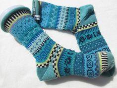 Socken - Bunte Socken Juene Gr. 39/40 - ein Designerstück von Lotta_888 bei DaWanda