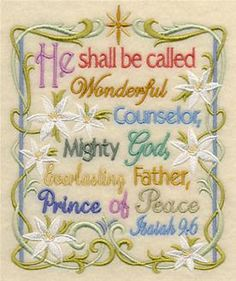 Machine Embroidery Designs at Embroidery Library! - Bible Verses