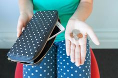 The Power Wallet holds a secret backup battery for your phone AND all your cold hard cash.