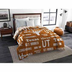 Ncaa Texas Longhorns Twin/Full Bedding Comforter, Orange