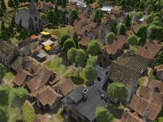 In Banished, you build gentle hamlets of wooden and stone houses. That's a contrast to the bustling urban centers of many city-building sim ...
