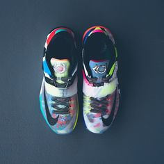 """Nike KD 7 SE - """"What The"""" $200 sizes 8-14 Available 06.20.2015 at our Lafayette location. #instoreonly #sneakerpolitics #whattheKD #whatthe #kd7 #whatthekd7"""